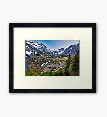 Dusk at Lundy Canyon Framed Print