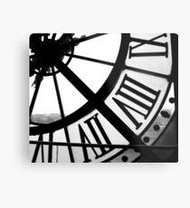 Musée d'Orsay Uhr 2 Metalldruck