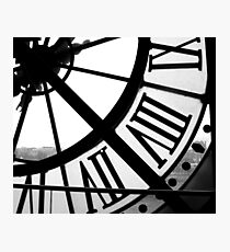 Musée d'Orsay Clock 2 Photographic Print