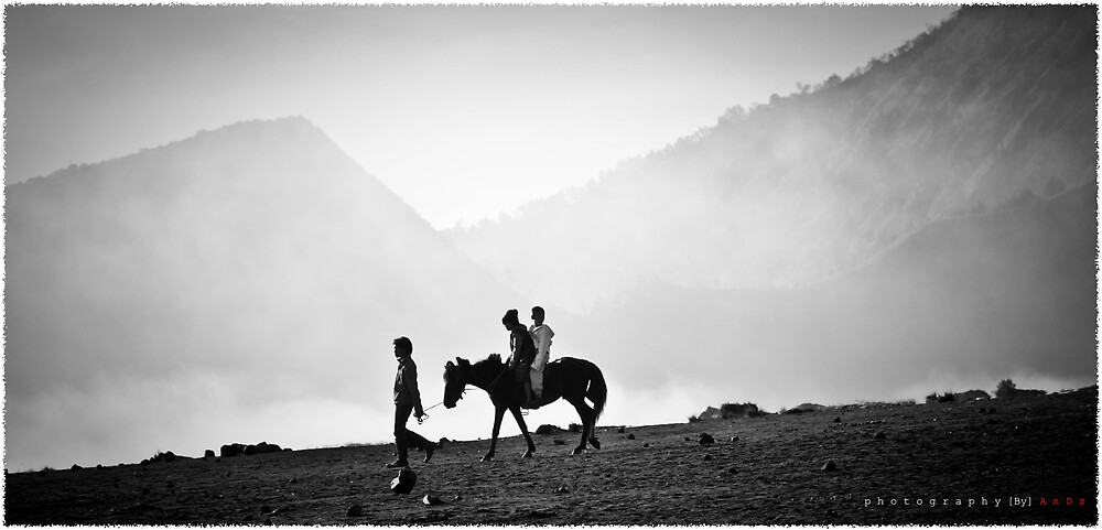 the horse rider... by jijik