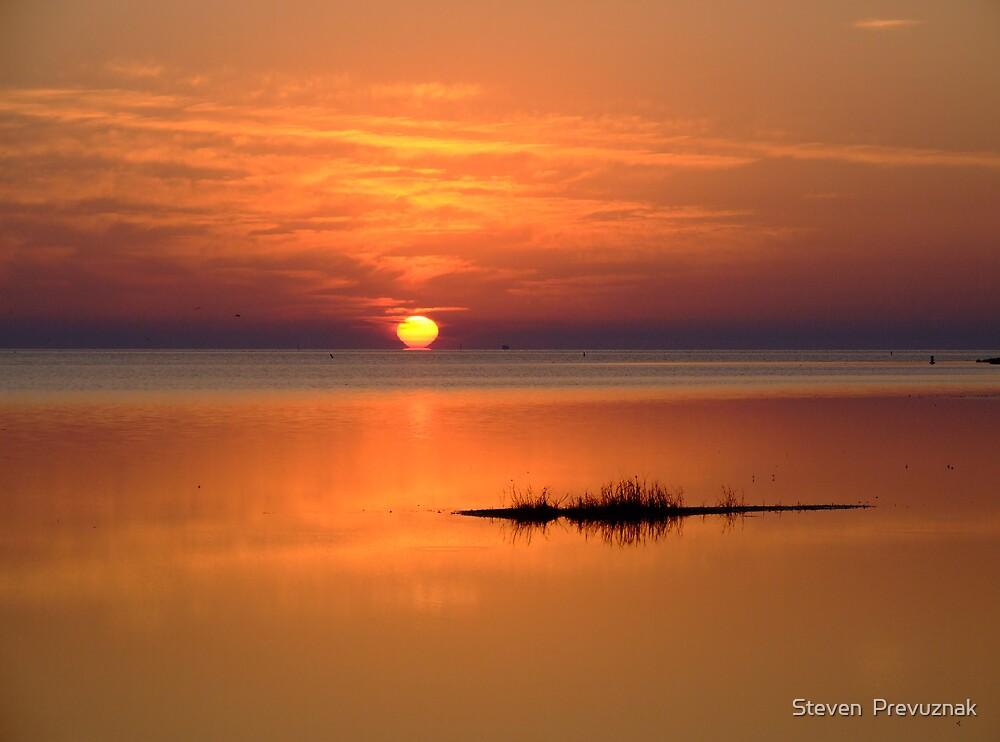 Sunset in Tarpon Springs by Steven  Prevuznak