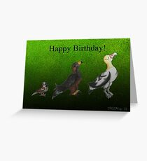 Under Par (Birthday) Greeting Card