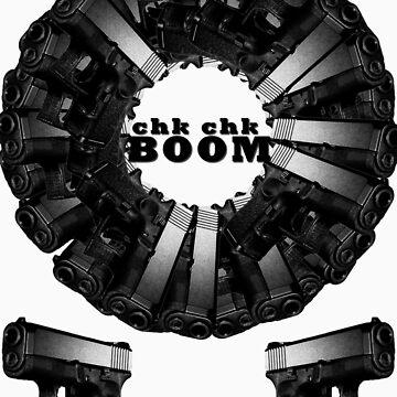 Chk CHk Boom - crazy pattern by ILikeShirts