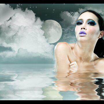 Moonlight Bath by morganmedia