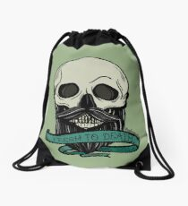 Fresh to Death Drawstring Bag