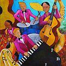 The Jazz Quartet by lagmanart