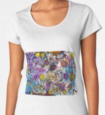"""evolution of the soul"" Women's Premium T-Shirt"