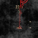 Smile! You're at 221B - red, foggy by gruffyjustice