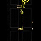 Smile! You're at 221B - yellow by gruffyjustice