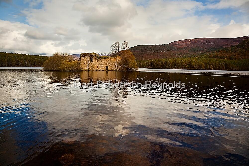Loch an Eilein Castle, Scotland by Stuart Robertson Reynolds