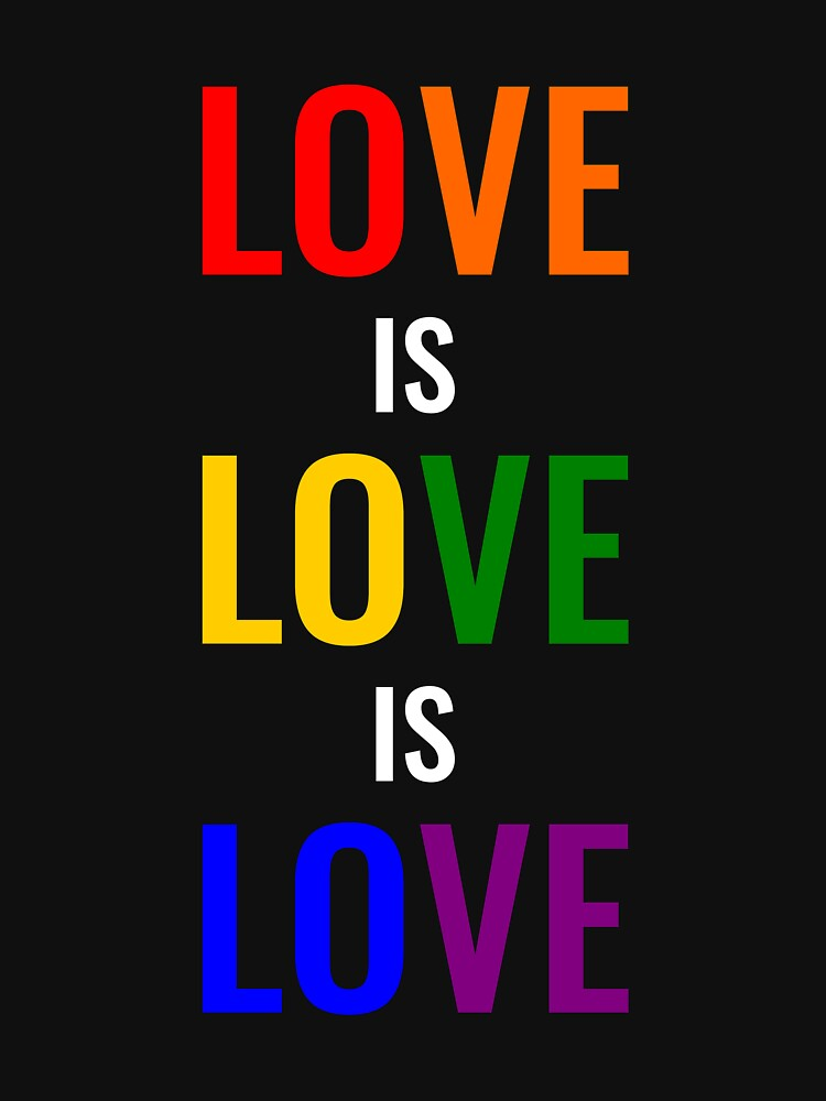 Love is Love is Love by simbamerch