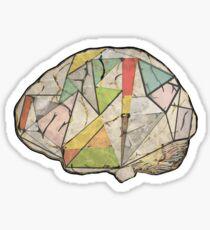 GeoBrain Sticker