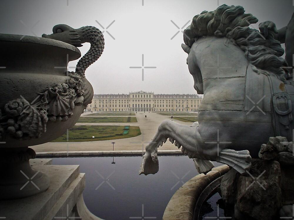 Schönbrunn Palace, Vienna, Austria by daynov