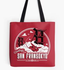Greetings from San Fransokyo Tote Bag