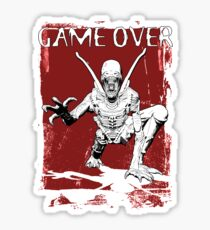 Game Over Man! Sticker
