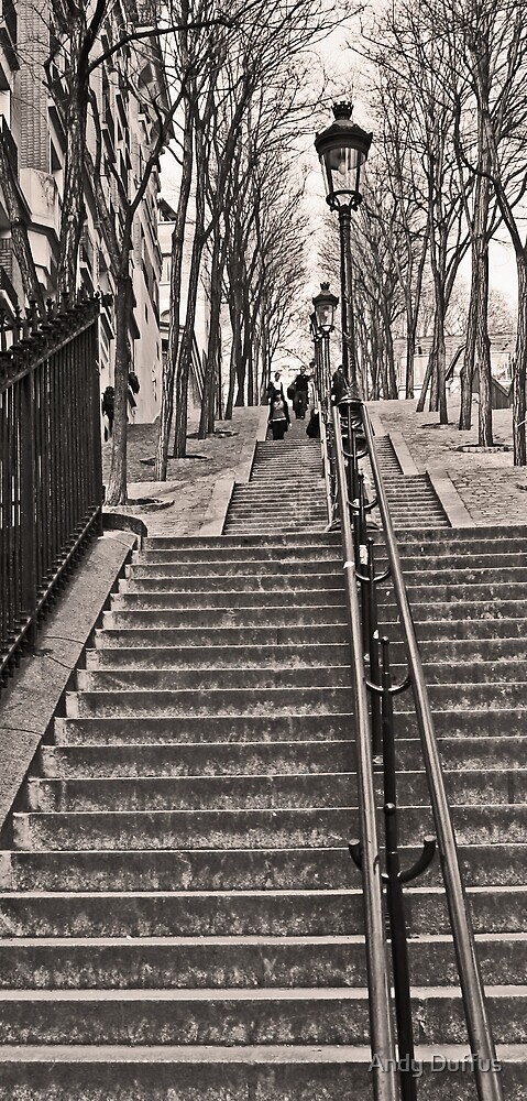Montmartre by Andy Duffus