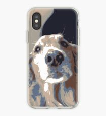 multicolor dog image iPhone Case