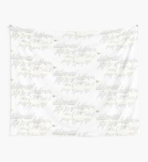 Paris Train Map - France - RER C (Pontoise, Massy, ​​Montigny, Dourdan, Forest, Versailles, Saint-Martin-d'Etampes, Saint-Quentin-en-Yvelines, Juvisy, Rungis - Orly) Wall Tapestry