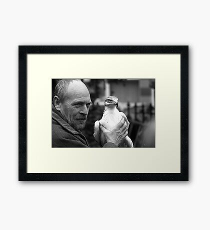 The Birdman Framed Print