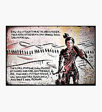 Paul Atreides from Dune Photographic Print