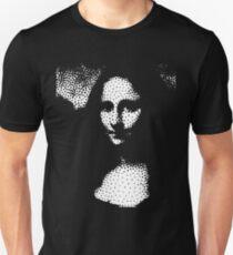 Mona Punkte. Eine Matrix zur Vereinfachung der Mustererkennung Unisex T-Shirt