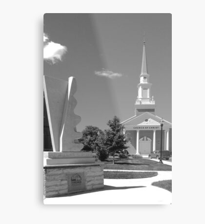 Central Church of Christ~McMinnville Tennessee Metal Print