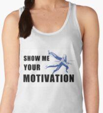 Motivation in Blue Women's Tank Top