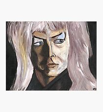 Goblin King Photographic Print