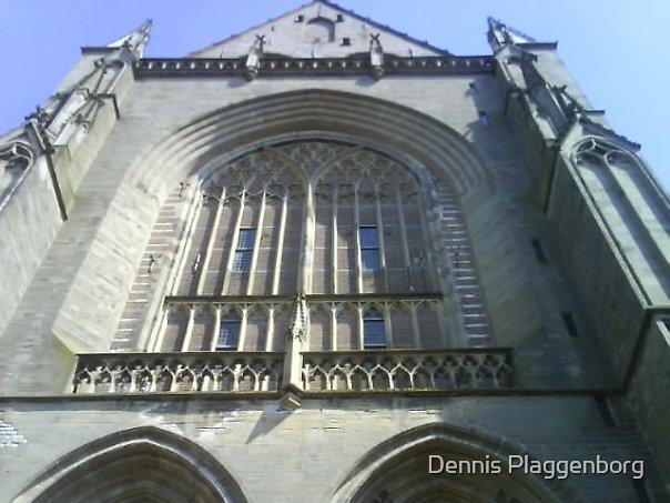 St. Bavokerk church in Haarlem, Netherlands by Dennis Plaggenborg