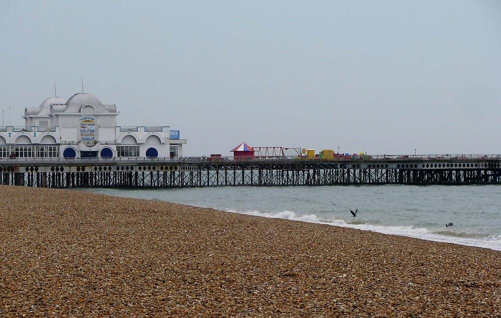 Southsea Pier by Caroline Anderson