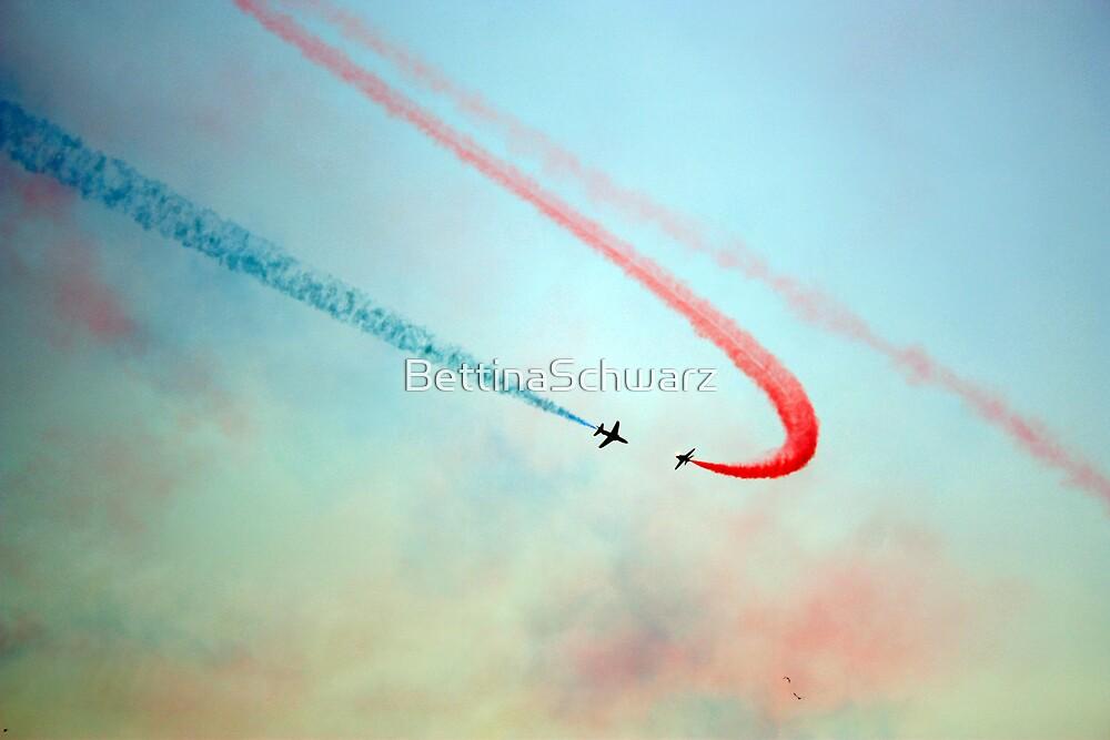 the sky as my canvas by BettinaSchwarz