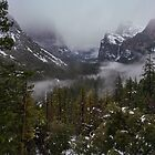 Yosemite Valley View, Afternoon Clearing by photosbyflood