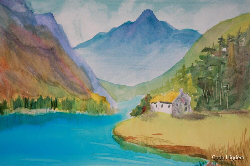 Study of Misting Blue Ridge by Cody Higdem