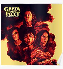 FLEET VAN GRETA TOUR 2018 WIN Poster