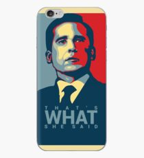 That's What She Said - Michael Scott - The Office US iPhone Case