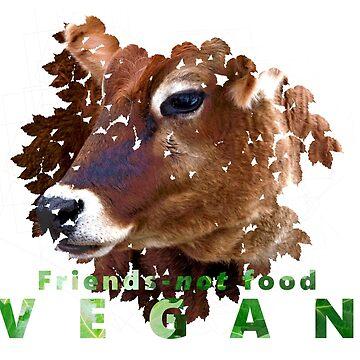 Friends - not food - VEGAN by VeganBear