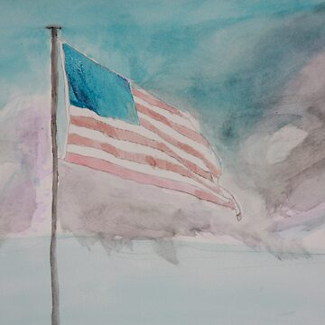 Storm over Patriotism by Mmonarch