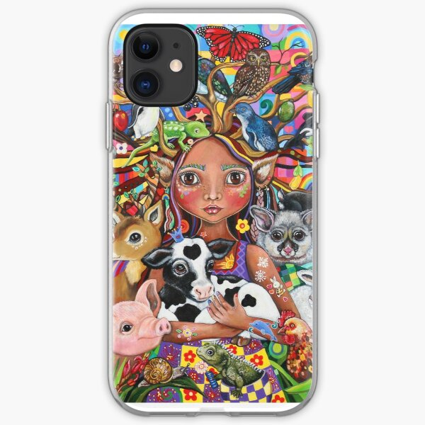 Animals Elf Ball Anime Cool iPhone Case