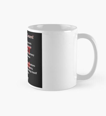 Declaration of Non-Consent Mug