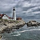 Portland Head Lighthouse by Denis Charbonnier