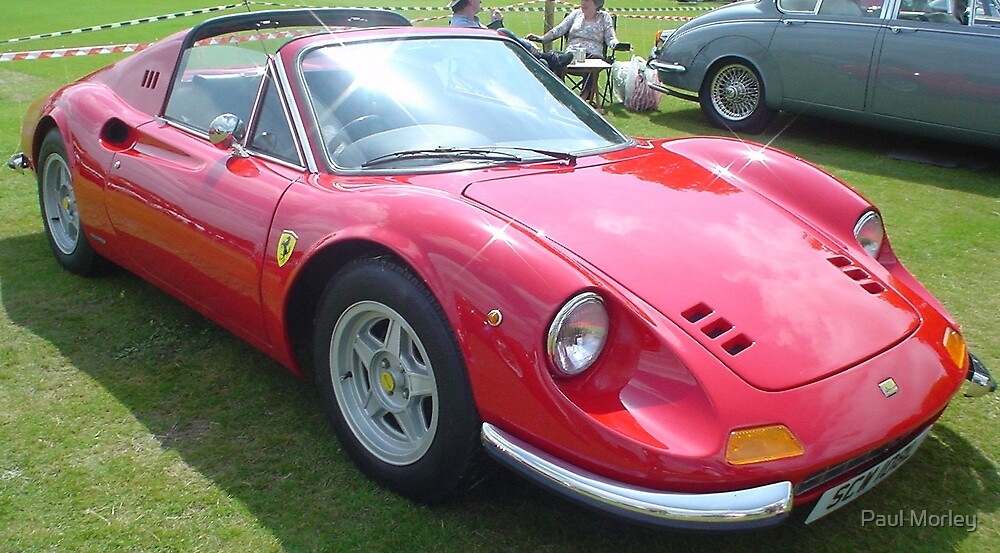 Classic Ferrari by Paul Morley