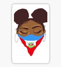 Fräulein Haiti Sticker