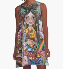 The Protector A-Line Dress