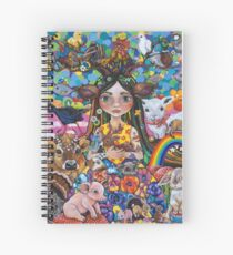 The Protector Spiral Notebook