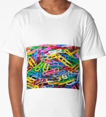 paperclip Long T-Shirt