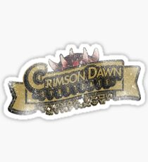 Crimson Dawn Syndicate Sticker