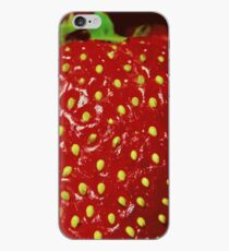 Strawberry Macro photography iPhone Case