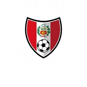 Peru Shirt - Peruvian Soccer Team in Russia Shirt 2018 - Men Women Youth Tees by HallelujahTees