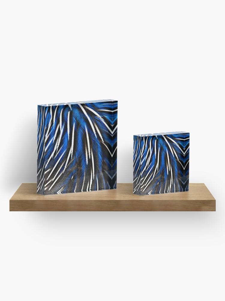 Alternate view of Swirl Acrylic Block