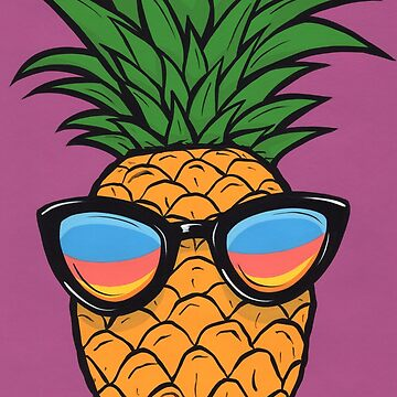 Cool Pineapple by turddemon